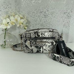 🆕 Steve Madden Black & White Crossbody Bag